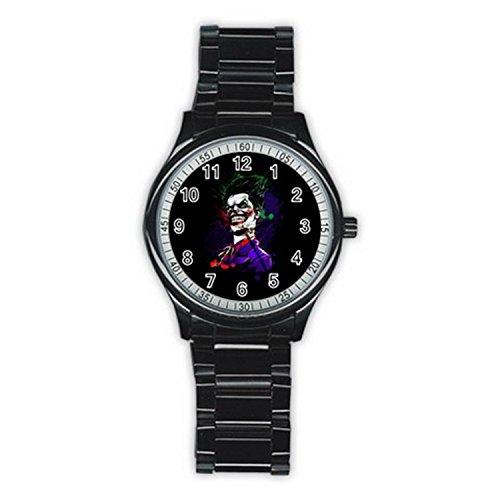Classic Villain Hoodlum Joker MAS151 New Fashion Men's Wrist Watches Stainless Steel