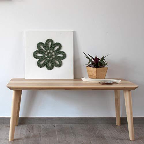 Cuadro Crochet Flor Girasol Verde: Amazon.es: Handmade