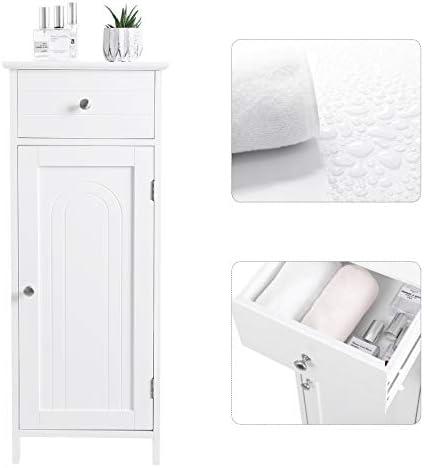 home, kitchen, furniture, bathroom furniture,  bathroom sets 2 image VASAGLE Bathroom Floor Cabinet Wooden Storage Organizer Unit in USA