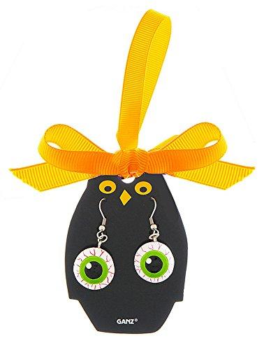 Eeery-Sistable Earrings: Eyeballs - By Ganz ()