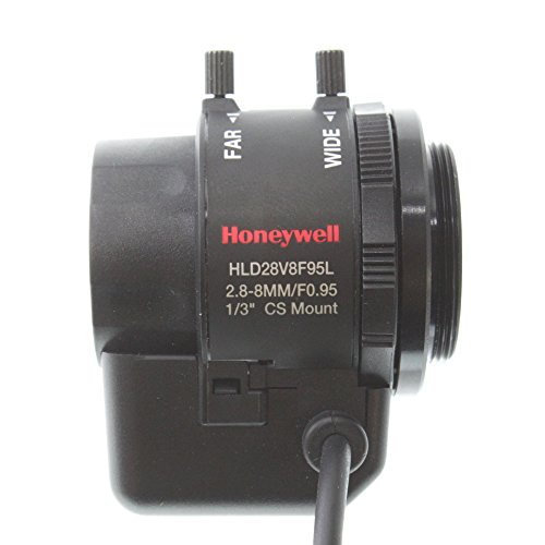 Honeywell vídeo hld28 V8 F95l 2,8 - 8 mm Auto Iris Varifocal lente: Amazon.es: Electrónica