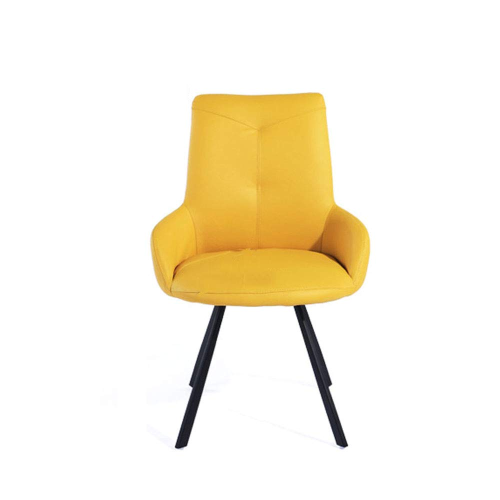 Lixizhong modern simple lazy home office chair computer chair game chair leisure seat desk chair study chair color yellow amazon co uk kitchen home