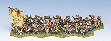 Demonworld - Orc Guard (32) (15mm scale fantasy miniatures) (Ral