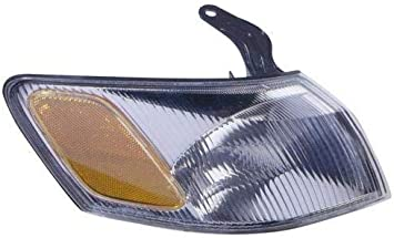 for 1997-1999 Toyota Camry Turn Signal Light Assembly // Lens Cover Passenger Side 81510-AA010 TO2531126 Replacement 1998 Go-Parts Front Right