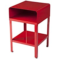 RMP Retro Metal Nightstand - Red