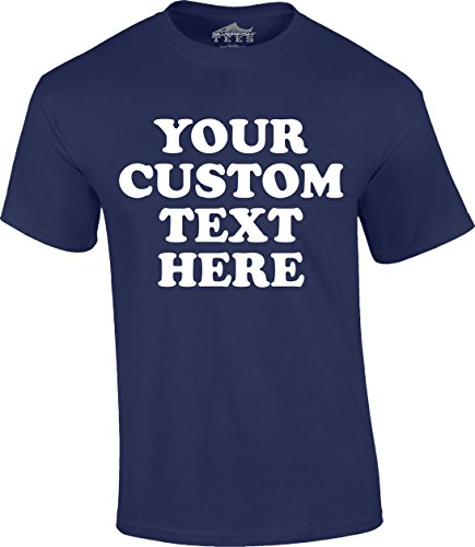 Custom Front Short Sleeve T-Shirt (Unisex, Youth/Adult) - Add Your Custom Text ()