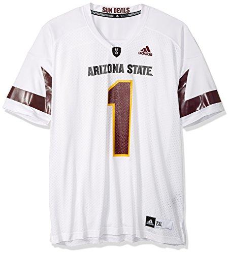 - NCAA Arizona State Sun Devils Men's 3-Stripe Football Jersey, XX-Large, Yellow