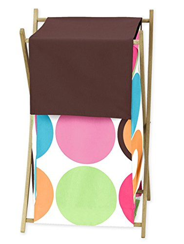 Modern Deco Dot Childrens Kids Clothes Laundry Hamper by Sweet Jojo Designs by Sweet Jojo Designs (Image #4)