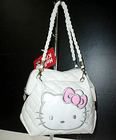 cbac1f4cb8b0 Image Unavailable. Image not available for. Color  New Hello Kitty Bag Mini Bag  Purse Shoulder Strap Handbags XK688W