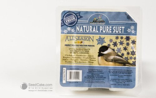 (Natural Pure Suet Cake,10.0 ounce)