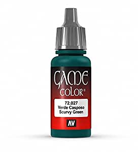 Vallejo Game Color Scruf Green Paint, 17ml