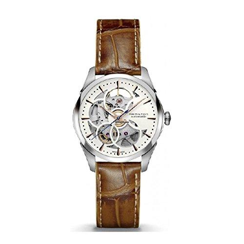 Hamilton Jazzmaster Automatic Silver Dial Ladies Watch H32405551