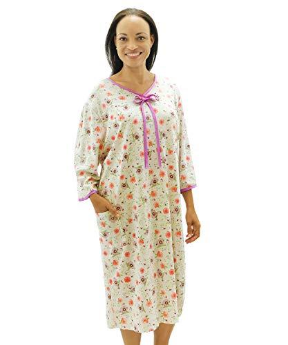 ital Gown Open Back Regular & Plus Sizes - Soft Pastel 2XL ()
