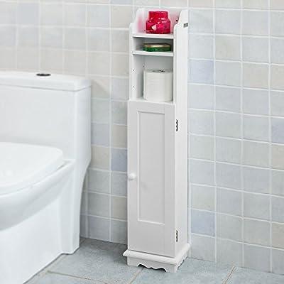 Haotian Bathroom Vanity Set,Eco-Friendly Extendable Bathtub Caddy,Bath Cabinet,Bathroom Storage Cabinet (FRG177-W)