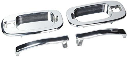 (All Sales 902 Polished Billet Aluminum Rear Door Handle and Bucket)