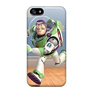 Excellent Iphone 5/5s Cases Covers Back Skin Protector Buzz Lightyear Walked In Toystory 3 Hd