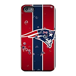 Shockproof Cell-phone Hard Covers For Apple Iphone 6s Plus With Unique Design Realistic New England Patriots Pictures 88bestcase