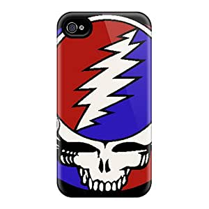 New Style Tpu 4/4s Protective Cases Covers/ Iphone Cases - Grateful Dead
