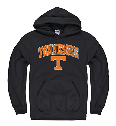 (Campus Colors Tennessee Volunteers Adult Arch & Logo Gameday Hooded Sweatshirt - Black )