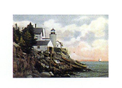 Bass Harbor Head Light - Maine 8 X 10 Poster