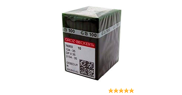 Groz-Beckert 134-35 DPX35 Gebedur Sewing Machine Needle Size 120 19 100 Pk