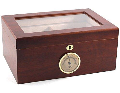 100-cigar Bally Glass Top Humidor