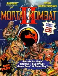 Mortal Kombat II: Official Fighter's Kompanion (Brady - Shape In Online Purchase