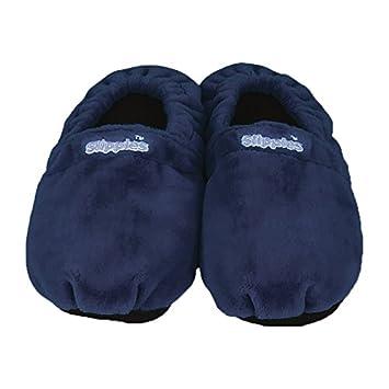 Warmies Slippies Schuhe Classic Gr.41-45 Dunkelbl. 1 St RBYAGiQELH