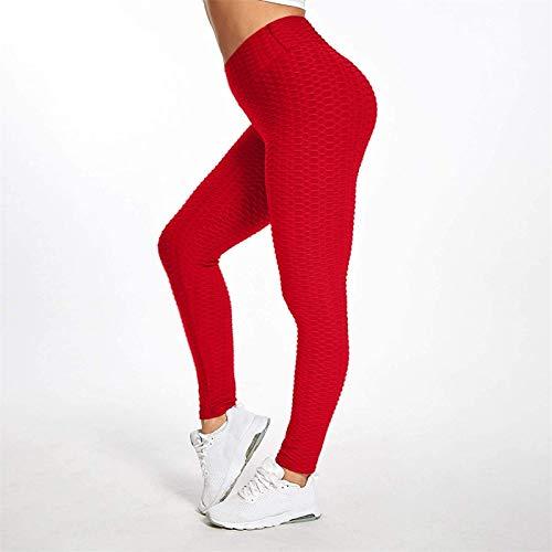 TikTok Leggings for Women, Yoga Pants High Waist Tummy Control Booty Bubble Hip Lifting Workout Running Tights