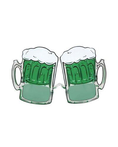 Elope Women's St. Patrick's Day Beer Mug Glasses