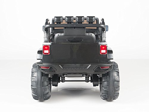 Kids 12v Electric Power Ride On Jeep Truck With Big Wheels