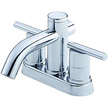 Danze D301130 Amalfi Two Handle Centerset Lavatory Faucet Chrome