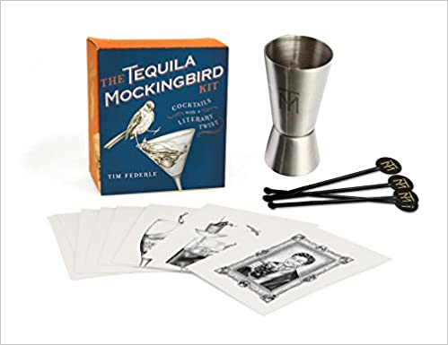 Book The Tequila Mockingbird Kit: Cocktails with a Literary Twist