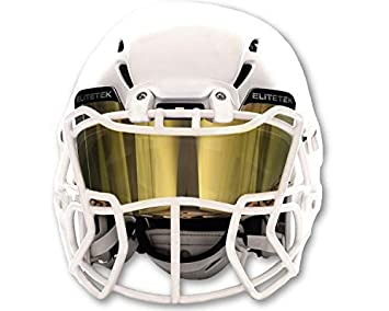 045b1ecf9 EliteTek Color Football & Lacrosse Eye-Shield Facemask Visor - Fits Youth &  Adult Helmets