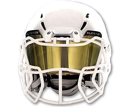 EliteTek Color Football   Lacrosse Eye-Shield Facemask Visor - Fits Youth    Adult Helmets 10a257b5f1c