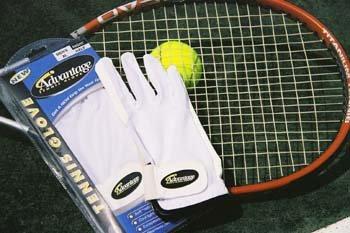 Unique Sports Advantage Tennis Glove Mens Full-Finger Large Right