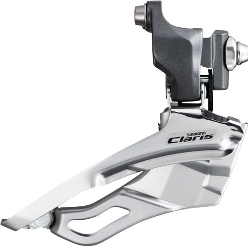 SHIMANO FD-2403 3x8-Speed Claris Braze-On Front Derailleur, ()