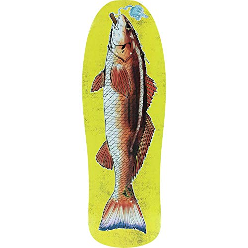 Demon Seed Redfish Pool Service Skateboard Deck -10x30.8 - Assembled AS Complete Skateboard