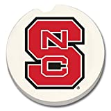 NC State Wolfpack Absorbent Stone Car Coaster - Set