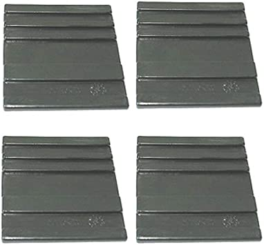 für Holzspalter ASP 6-1050 ATIKA ErsatzteilGleitplatten unten 4 Stück