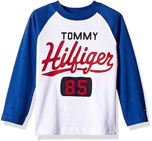Tommy Hilfiger Boys' Dustin-bex Jersey Long Sleeve Tee