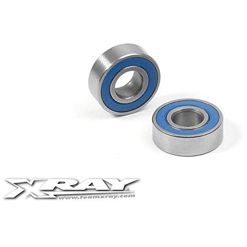 (XRAY 5x12x4mm High-Speed Ball Bearing Set (2))