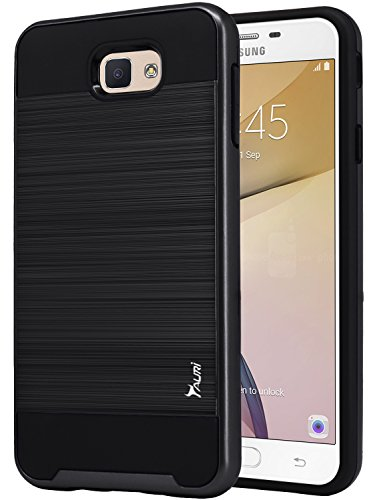 Slim Shockproof Case for Samsung Galaxy On7 (Black) - 2