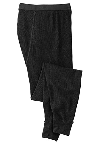 Kingsize Men's Big & Tall Heavyweight Thermal Pants With ...