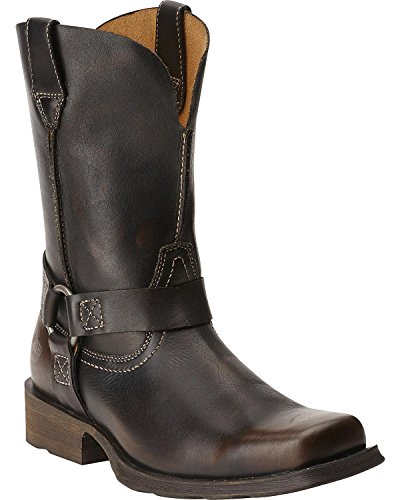 Ariat Men's Rambler Harness Western Lifestyle Boot, Brushed Brown, 12 M US