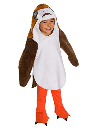 Rubie's Unisex-Children Star Wars Episode VIII: The Last Jedi Deluxe PORG Costume, Toddler