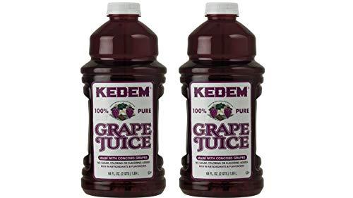 Kedem 64oz Concord Grape Juice (2 Pack)