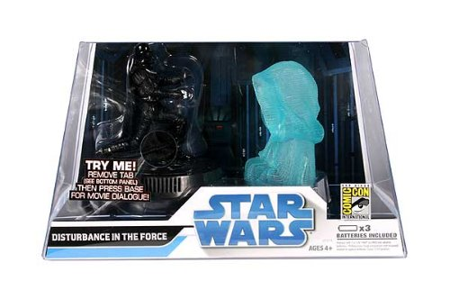 Legacy Collection 2008 SDCC Exclusive and gt; Disturbance In The Force Action Figure Set Star Wars