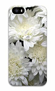 iPhone 5 3D Hard Case White Flowers