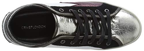 10 010 Crime bianco Sneakers 25065aa1 Blanc Femme London Basses qzzwB